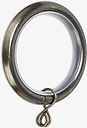 John Lewis & Partners Extendable Curtain Rings, Dia.16/19mm, Pack of 6