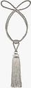John Lewis & Partners Mini Lola Tieback, Silver