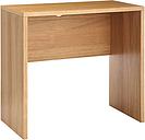 John Lewis & Partners Abacus Small Desk, FSC-Certified, Oak