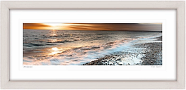 Mike Shepherd - Seascape Framed Print, 52 x 107cm