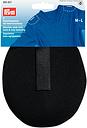 Prym Raglan Shoulder Pads, Pack of 2, M/L, Black