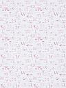Sanderson Alphabet Zoo Wallpaper