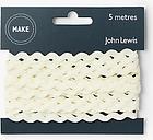 John Lewis & Partners Ric Rac, 6mm