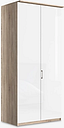 John Lewis & Partners Elstra 100cm Wardrobe with Glass Hinged Doors