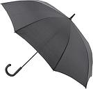 Fulton Knightsbridge 1 Walking Umbrella, Black