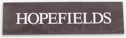 The House Nameplate Company Personalised Slate House Sign, 1 Line, W35.5 x H10cm