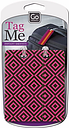 Go Travel 906 Tag Me Patterned Luggage Tag, Multi