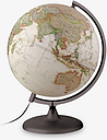 National Geographic Executive Globe, Brown, 30cm