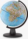 National Geographic Mini Classic Globe, Blue, 16cm