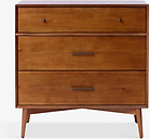 west elm Mid-Century 3 Drawer Chest, FSC Certified (Eucalyptus)