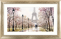 Richard Macneil - Eiffel Tower Framed Print, 112 x 72cm