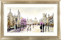 Richard Macneil - Cambridge Spires Framed Print, 112 x 72cm