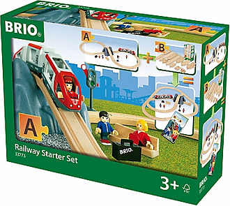 BRIO World Railway Starter Set