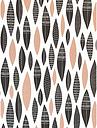 MissPrint Five Feathers Wallpaper