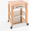 Eddingtons Chilton Kitchen Trolley, FSC-Certified (Beech Wood), Medium