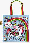Rachel Ellen Unicorn Mini Tote Bag