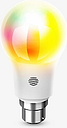 Hive Active Light Colour Changing Wireless Lighting LED Light Bulb, 9.5W A60 B22 Bayonet Bulb, Single