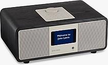John Lewis & Partners Octave DAB/DAB+/FM/Internet Radio with Wi-Fi & Bluetooth, Black Ash