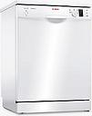 Bosch SMS25EW00G Freestanding Dishwasher, White
