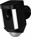 Ring Spotlight Cam Smart Security Camera with Built-in Wi-Fi & Siren Alarm, Wired