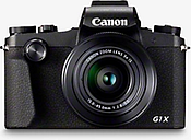 "Canon PowerShot G1 X Mark III Digital Camera, HD 1080p, 24.2MP, 3x Optical Zoom, Bluetooth, NFC, Wi-Fi, EVF, 3"" Vari-angle Touch Screen"