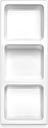 string Bowl Shelf, White