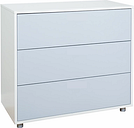 Stompa Uno S Plus 3 Drawer Chest