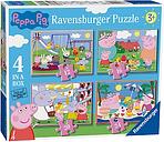Peppa Pig Ravensburger 4 In a Box Jigsaw Puzzle