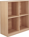House by John Lewis Cube 2 x 2 Shelf Unit, FSC-Certified, Oak