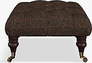Tetrad Skittle Button Detail Footstool