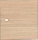 House by John Lewis Cube Single Door, FSC-Certified, Oak