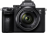 Sony a7 III (Alpha ILCE-7M3) Compact System Camera with 28-70mm Zoom Lens, 4K Ultra HD, 24.2MP, Wi-Fi, Bluetooth, NFC, OLED EVF, 5-Axis Image Stabiliser & Tiltable 3 LCD Touch Screen, Black