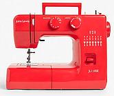 John Lewis & Partners JL110 Sewing Machine, Ruby Red