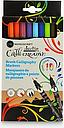 Manuscript Callicreative Duotip Brush Markers, Set of 10