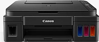 Canon PIXMA G3501 Three-in-One Wireless Wi-Fi Printer, Black