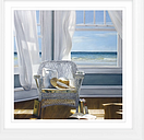 Karen Hollingsworth - Gentle Reader Framed Print & Mount, 93 x 93cm