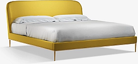 John Lewis & Partners Show-Wood Upholstered Bed Frame, Super King Size