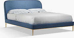 John Lewis & Partners Show-Wood Upholstered Bed Frame, King Size