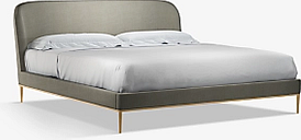 John Lewis & Partners Show-Wood Upholstered Bed Frame, Super King Size