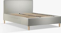 John Lewis & Partners Emily 2 Drawer Storage Upholstered Bed Frame, King Size