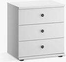 John Lewis & Partners Marlow 3 Drawer Bedside Table, 50cm