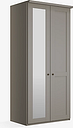 John Lewis & Partners Marlow 100cm Hinged Wardrobe with Left Mirror