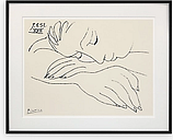 Picasso - War and Peace Framed Print & Mount, 72 x 90cm