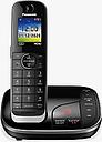 Panasonic KX-TGJ420EB Digital Cordless Telephone with Nuisance Call Blocker and Answering Machine, Single Dect