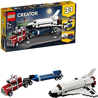 LEGO Creator 31091 3 in 1 Shuttle Transporter