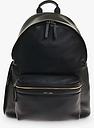 JEM + BEA Jamie Leather Backpack, Black