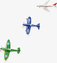 John Lewis & Partners 3 Toy Planes