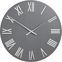 John Lewis & Partners Roman Numerals Large Wall Clock, 60cm, Graphite