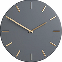 John Lewis & Partners Arne Brass Dial Analogue Wall Clock, 45cm