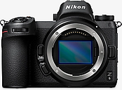 Nikon Z6 Compact System Camera, 4K UHD, 24.5MP, Wi-Fi, Bluetooth, OLED EVF, 3.2 Tiltable Touch Screen & FTZ Mount Adapter, Body Only